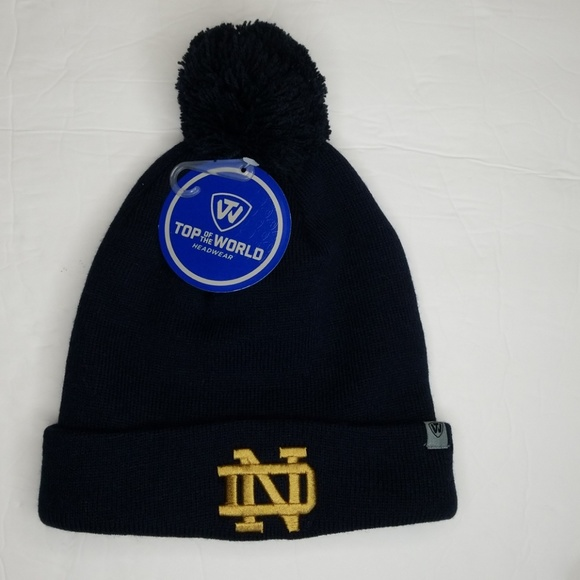 9a544026d8e Notre Dame fighting Irish Beanie top of the world